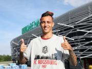 官方:奥格斯堡签下巴西国际后卫伊阿古