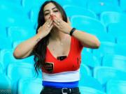场边的美丽风景,巴拉圭最性感女球迷现身美洲杯