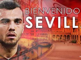 官方:塞维利亚签下埃瓦尔中场霍尔丹