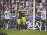德国女足1-2遭瑞典女足逆转无缘四强,瑞典半决赛约战荷兰