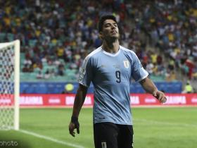 世体:苏亚雷斯在美洲杯踢日本队时就已经手指骨折