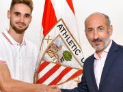 官方:毕尔巴鄂竞技签下巴萨B队门将埃斯基耶塔
