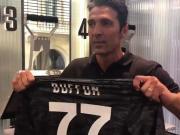 布冯新赛季号码确定:重披帕尔马时代的77号