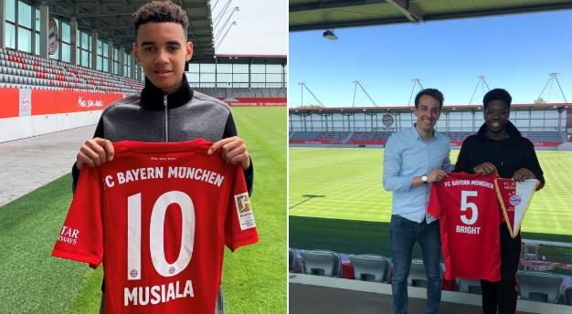 官方:拜仁慕尼黑签下两名切尔西16岁小将