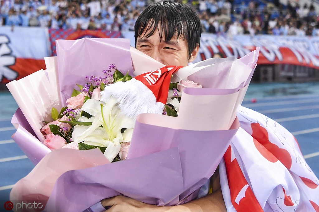 张修维:谢场仪式令我感动,看见天海球迷心里有说不出的滋味