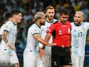 里瓦爾多:阿根廷有理由抱怨美洲杯半決賽的爭議判罰