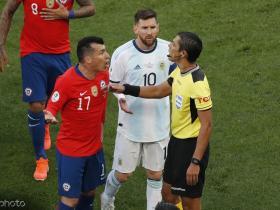 阿根廷国家报:阿足协上诉要求取消梅西红牌处罚