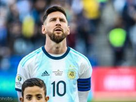 阿根廷体育仲裁法庭官员:我建议梅西为自己的言论道歉