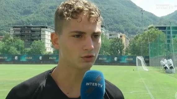国米小将:我希望尽早完成意甲首秀,孔蒂对球队的要求很高 — 国际米兰