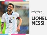 撒花!梅西獲得ESPY年度最佳男足運動員獎