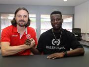 官方:杜塞尔多夫签下加纳国脚安波马
