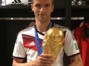 穆勒发推特纪念2014年世界杯夺冠:无比美妙的经历!
