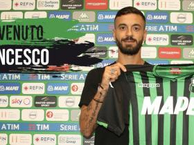 官方:萨索洛签下恩波利前锋卡普托