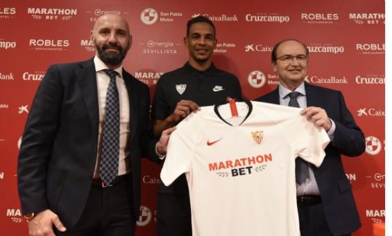 官方:塞维利亚签下前曼城中场费尔南多