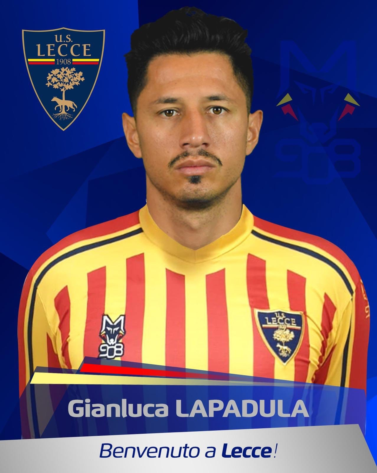 官方:米兰旧将拉帕杜拉加盟意甲升班马莱切 — AC米兰