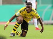 多特蒙德14岁小将穆科科升入U19,首秀取得进球
