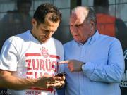 图片报:赫内斯和萨利不参加拜仁美国行,留在慕尼黑加班