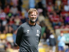 克洛普:希望可以至少再执教利物浦三年的时间
