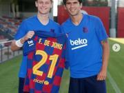 德容:感謝阿萊尼亞讓給我21號球衣,這號碼對我很重要