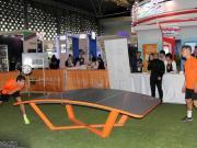 中国青少年队参加桌式足球世界杯,获得1银3铜