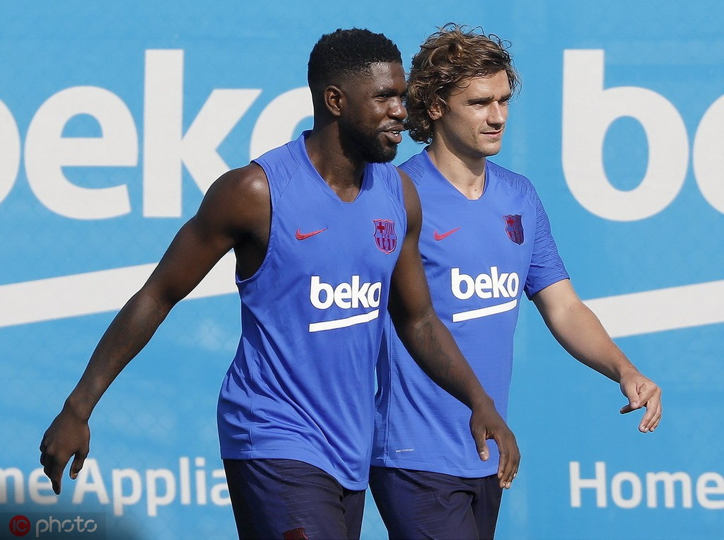 法媒:在接触,曼城可能签巴塞罗那后卫乌姆蒂蒂