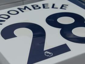 热刺官方:恩东贝莱新赛季将身披28号战袍