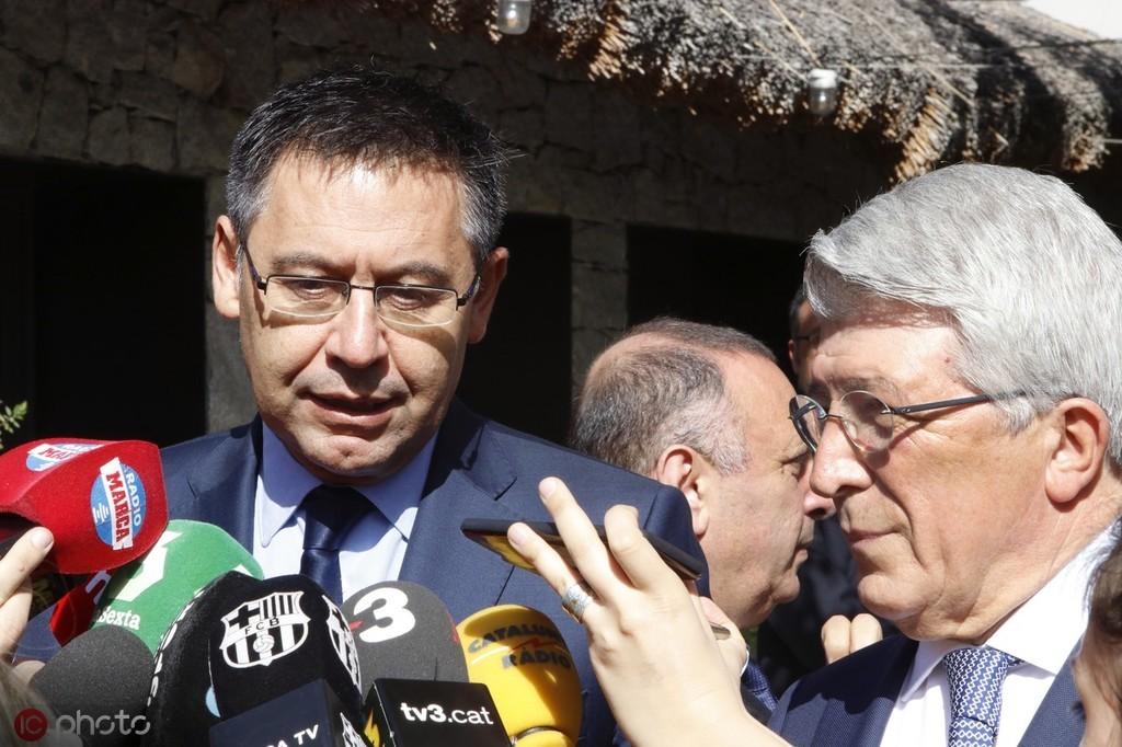 每体:马竞向西甲投诉巴萨,两家代表在足协会议上起冲突 — 马德里竞技