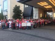 图集:休斯敦球迷集结欢迎拜仁,航天城不仅爱火箭更爱足球