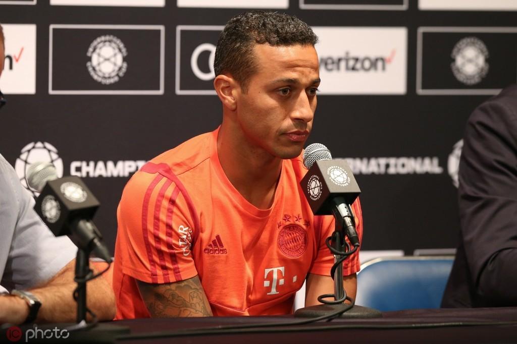 蒂亚戈:如果贝尔愿意加盟拜仁,我很欢迎他来