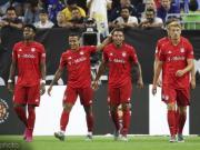 拜仁3-1皇马,莱万替补建功,罗德里戈造红牌+任意球破门