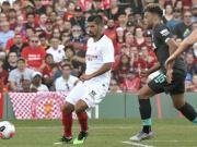 半场战报:利物浦1-1塞维利亚,诺利托破门,奥里吉扳平