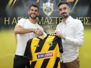 官方:雅典AEK签下诺维奇前锋奥利韦拉