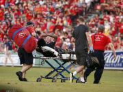 利物浦官方:拉鲁奇股骨严重挫伤,预计数周后可以恢复