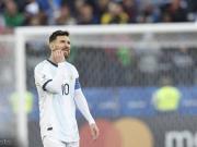 南美足协官方:梅西停赛一场,罚款1500美元