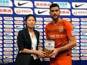 加時進球助山東晉級,佩萊當選山東和國安比賽最佳球員