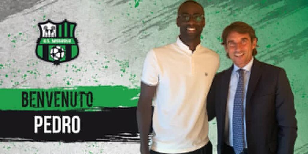 官方:萨索洛签下西汉姆联中场佩德罗-奥比昂
