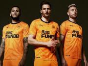 活力橙色,纽卡斯尔联2019/20赛季第二客场球衣发布