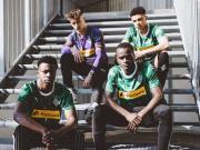 百年之家,门兴格拉德巴赫2019/20赛季杯赛球衣发布