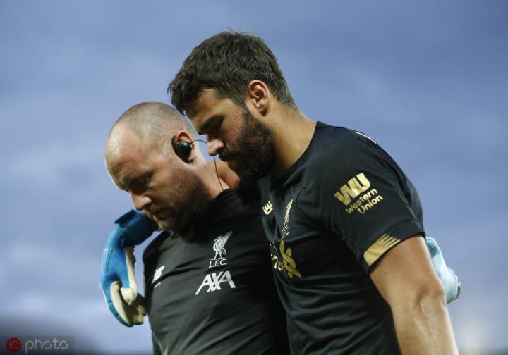 克莱伯森:阿利松受伤是利物浦和巴西队的重大损失