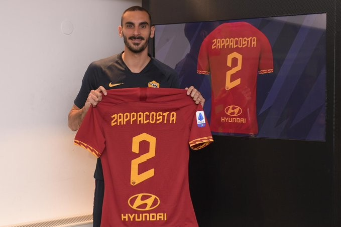 扎帕科斯塔:加盟罗马是因为想重新出发;意甲是很艰难的联赛