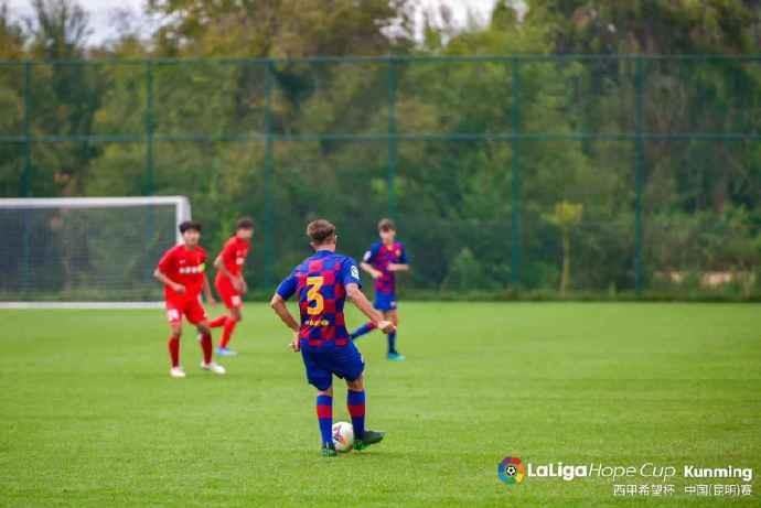 西甲希望杯战报:河北U16队2-4巴萨U16队,后者小组头名出线