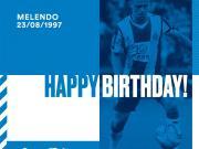 今天是梅伦多的生日!生日快乐!