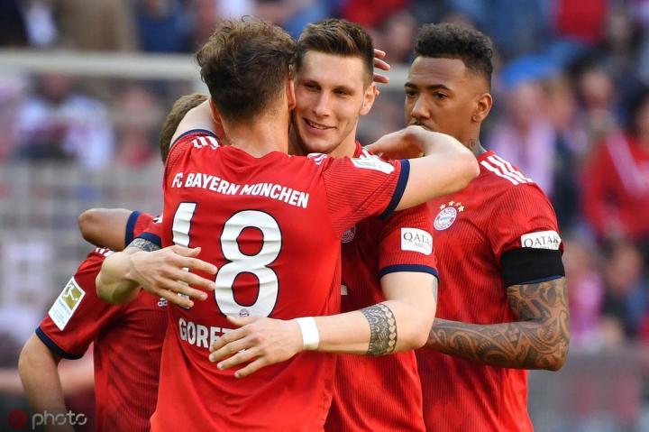 拜仁跟队记者:格雷茨卡、博阿滕、阿尔普将因伤缺战沙尔克