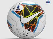 意甲官方公布19-20赛季比赛用球。