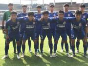 申花01梯队为班底,代表中国参加中日韩青运会男足项目