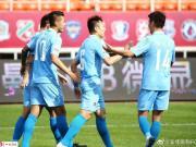 淄博蹴鞠9-0内蒙古创造赛季最大比分胜利,成源戴帽