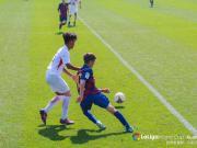 今天上午,首届西甲希望杯1/4决赛,上港U16队...