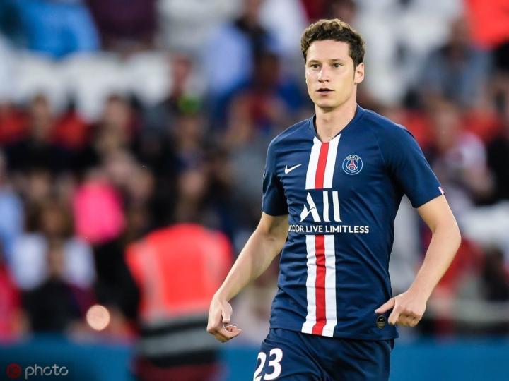 队报:德拉克斯勒缺席巴黎训练,对阵图卢兹可能无法登场