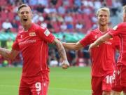 战平奥格斯堡,柏林联合拿到队史德甲联赛首个积分