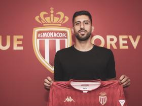 官方:摩纳哥签下阿拉维斯中卫马里潘